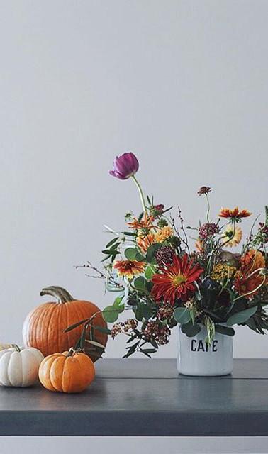 Autumn Pumpkin Bouquet