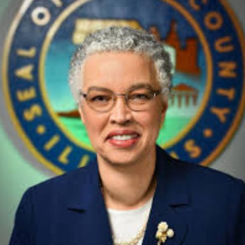 County Board President Toni Preckwinkle