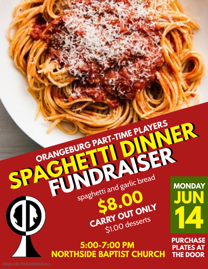 Copy of Spaghetti Fundraiser - Made with