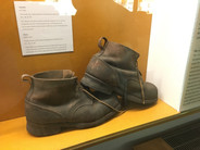 Boots at Sachsenhausen Memorial and Museum