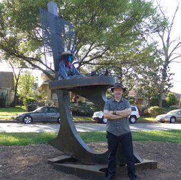 """""""True South- Heights Boulevard Sculpture Project"""" May 15 - December 15, 2015"""