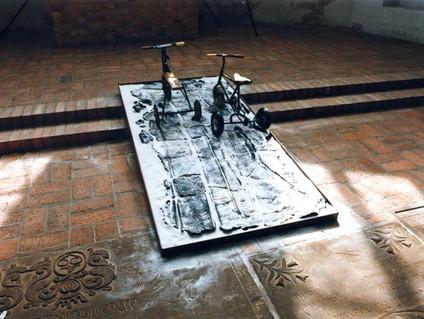 Ich weiss Mönchskirche Salzwedel, Germany June - September 1997