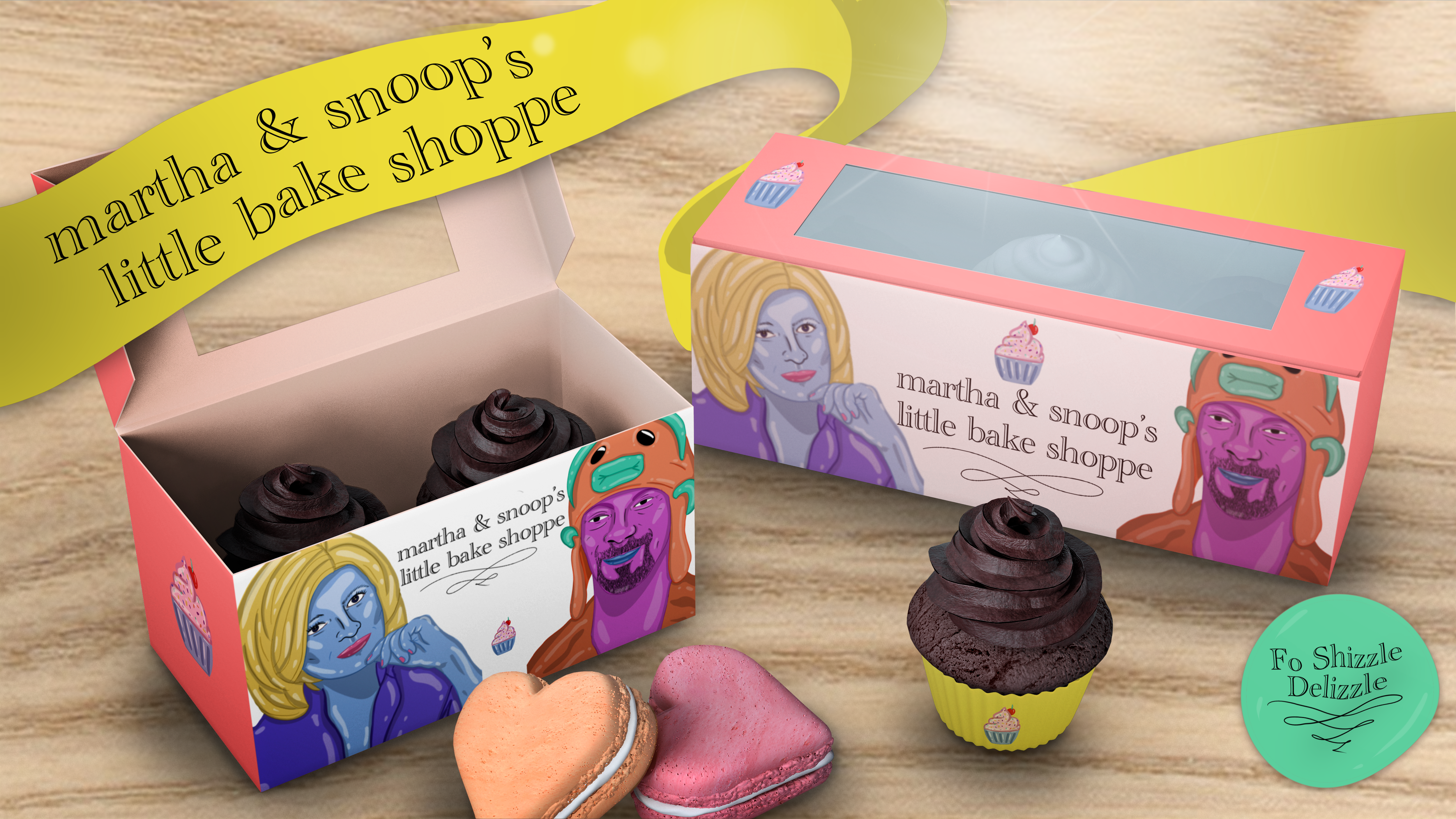 Martha & Snoop's Bake Shoppe