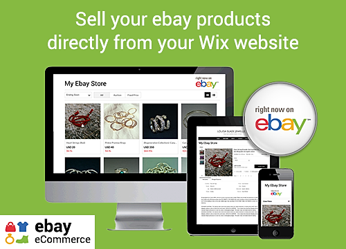 eBay eCommerce Overview | WIX App Market | Wix com