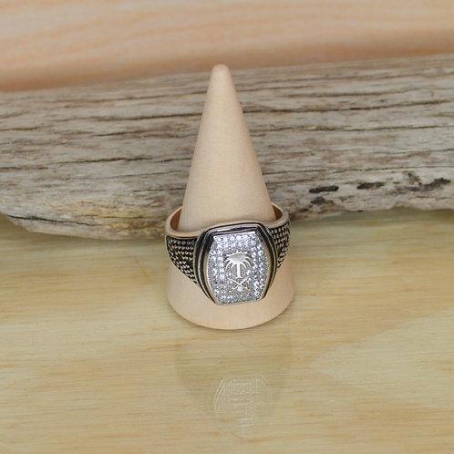 White Topaz Ring 1130