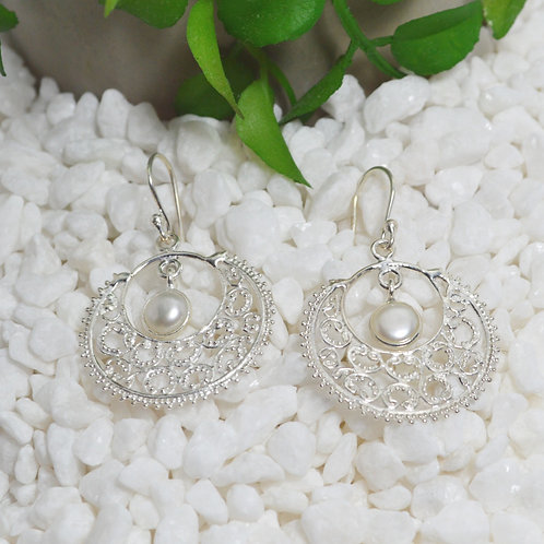 Pearl Earrings 1308