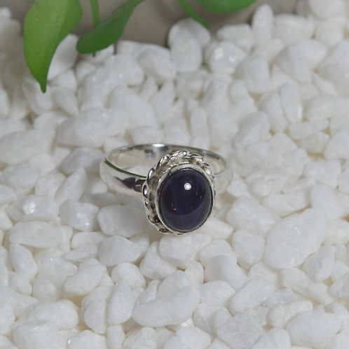Blue Sapphire Ring 1296