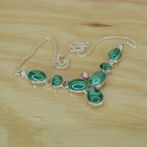 Malachite Necklace 1314