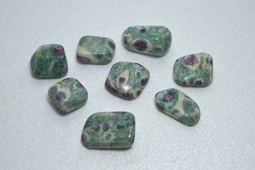Ruby in Fuchsite Tumbles