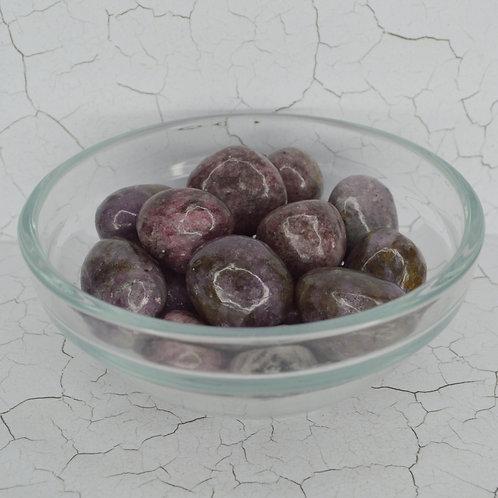 Lepidolite Tumbles