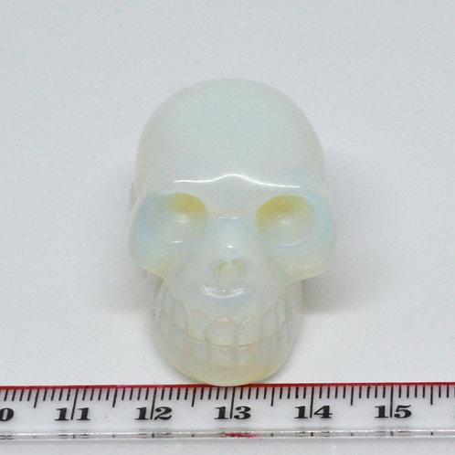 Carved Gemstone Skulls small