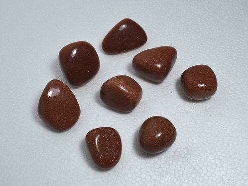 Red Goldstone Tumbles