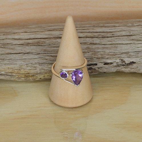 Amethyst Ring 1284