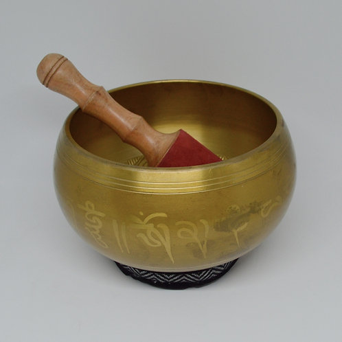 Singing Bowl- Brass Buddha