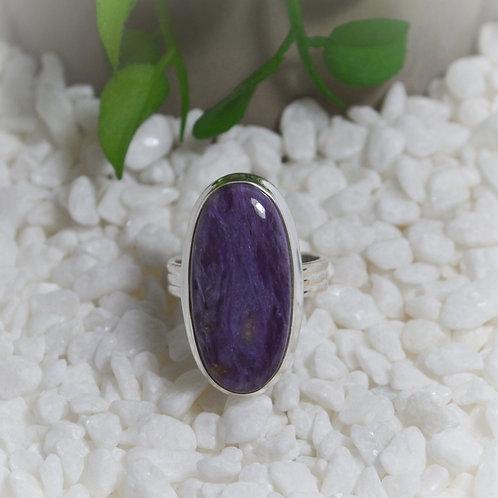 Charoite Ring 1291