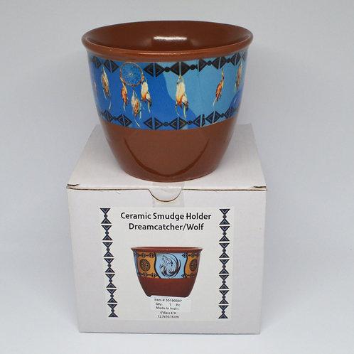Ceramic Sage Holder large