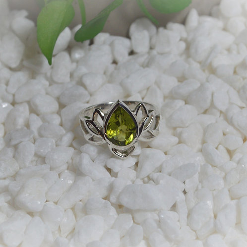 Peridot Ring 1281