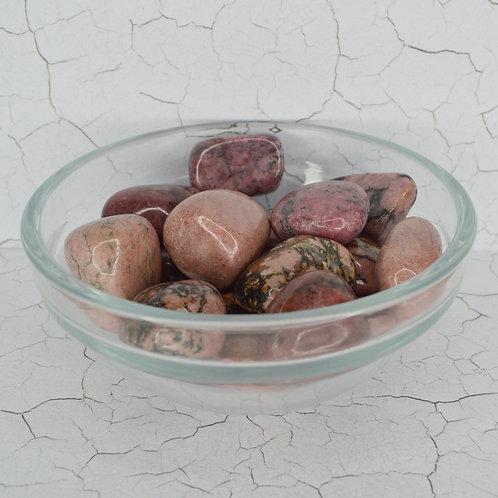 Rhodonite Tumbles