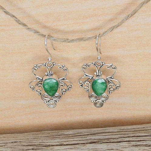 Emerald Earrings 1311