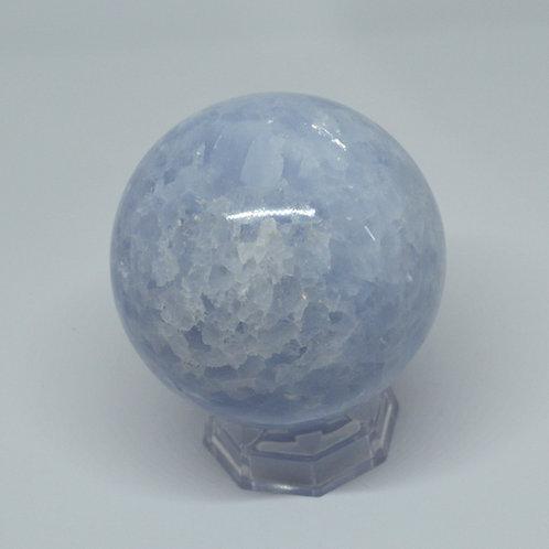 Sphere- Blue Calcite 1271
