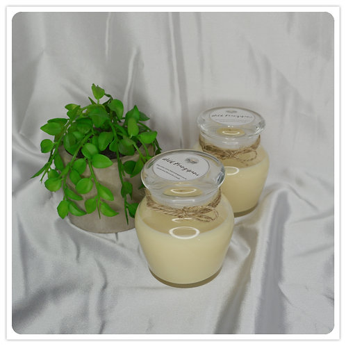 Small Scented Soy Candle - Wild Frangipani