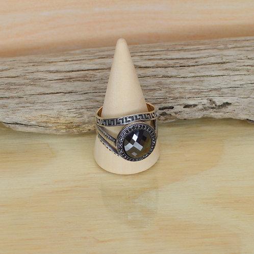 Black Onyx Ring 1119