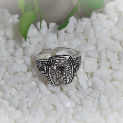 White Topaz Ring 1130