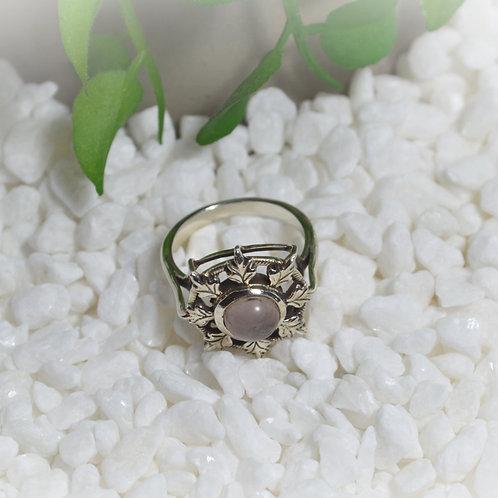 Rose Quartz Ring 1129