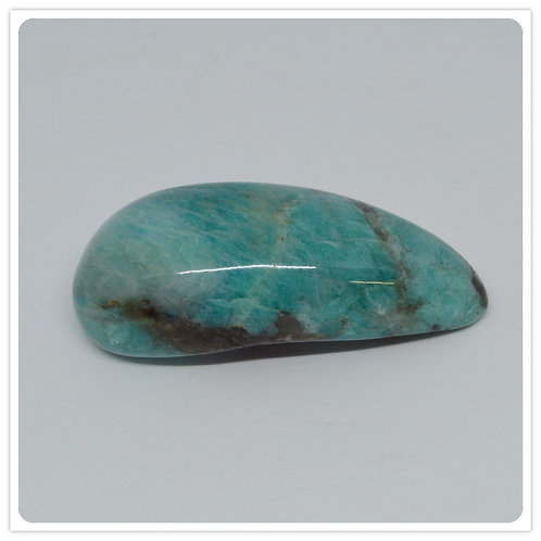 Curved Wand- Amazonite