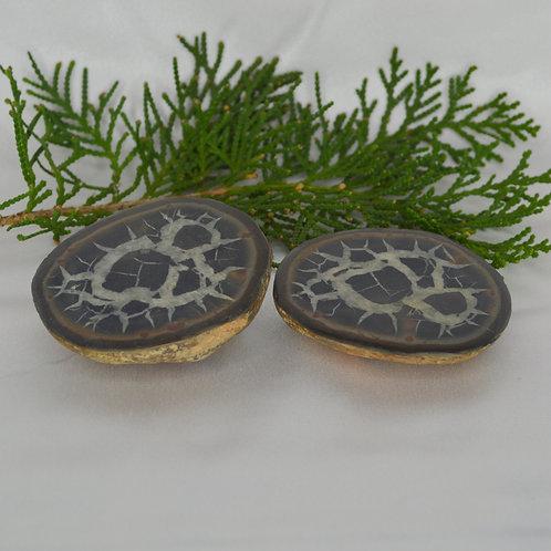 Septarian Natural (Pair) small