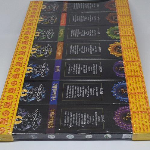 7 Chakras Incense gift pack