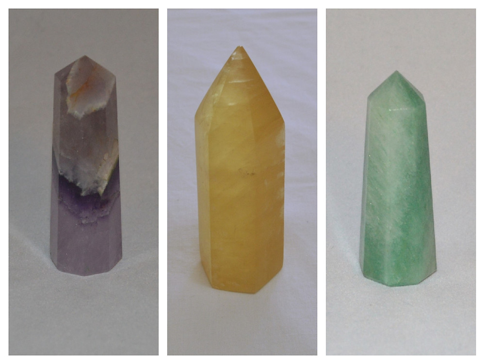 Why are gemstones shaped like towers?