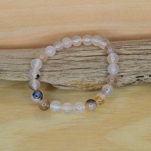 Bracelet- White Agate