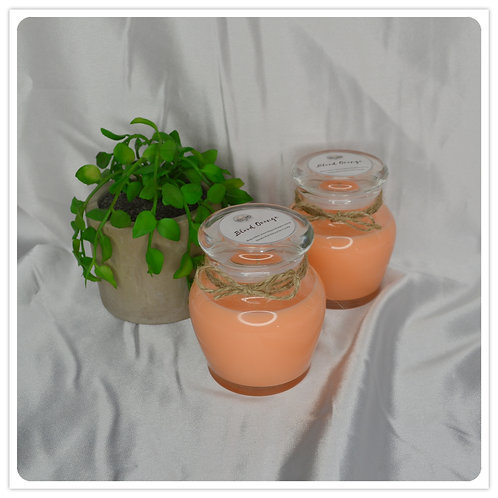 Small Scented Soy Candle - Blood Orange