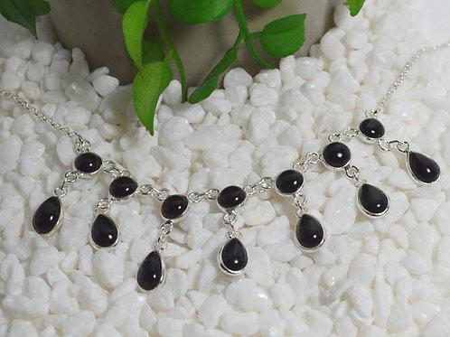 Black Onyx Necklace 1315
