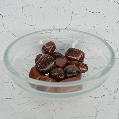 Mahogany Obsidian Tumbles small