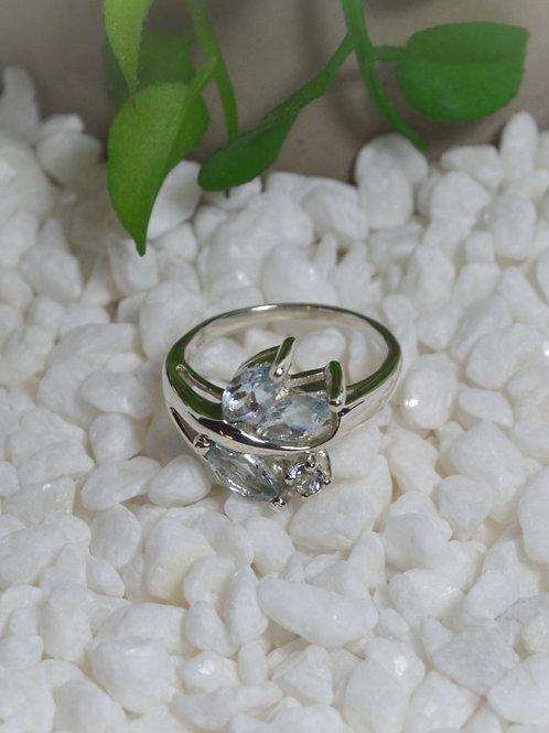 Blue Topaz Ring 1295