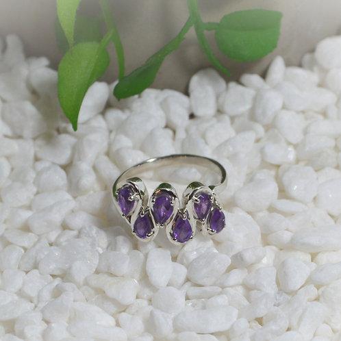Amethyst Ring 1289