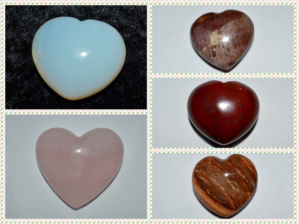 Why are gemstones shaped as hearts?