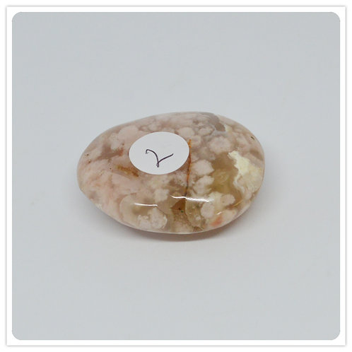 Flower Agate Polished piece