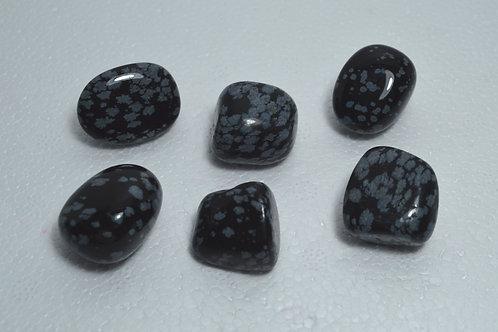 Snowflake Obsidian Tumbles
