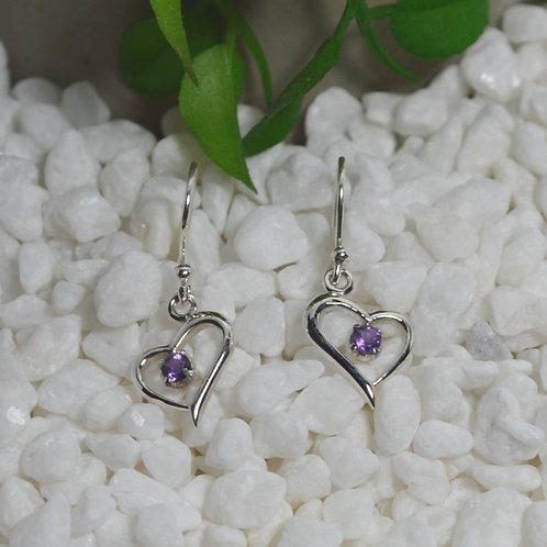 Amethyst Earrings 1300