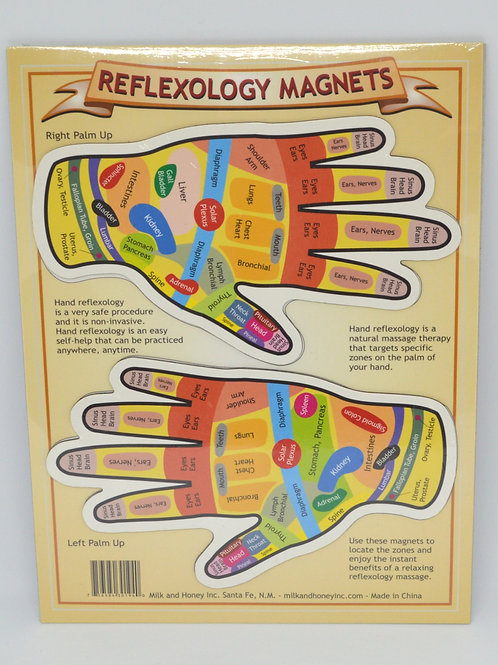 Reflexology Magnets for hands