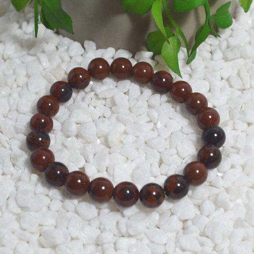 Bracelet- Mahogany Obsidian