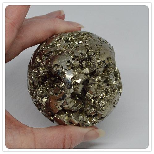 Sphere- Pyrite