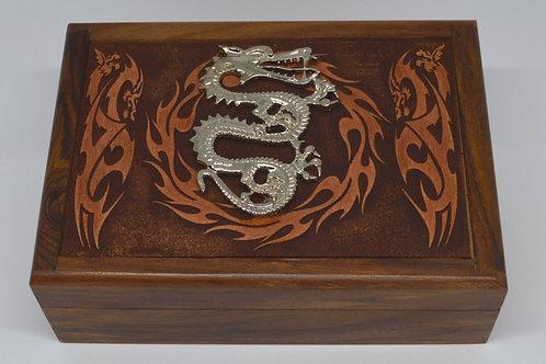 Velvet Lined Wooden Jewellery Boxes