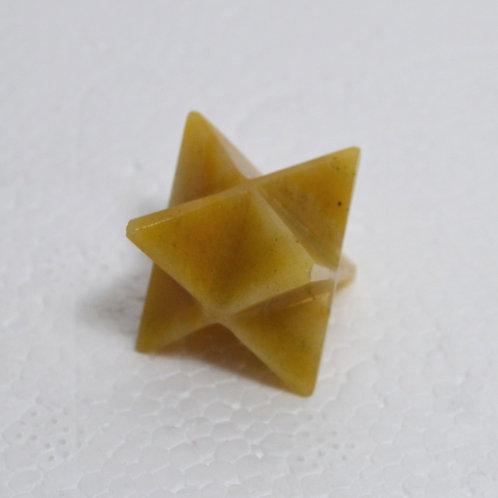 Merkaba Star- Yellow Aventurine 1093