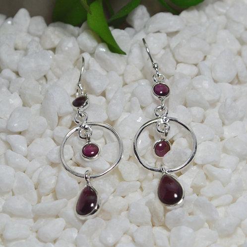 Garnet Earrings 1303