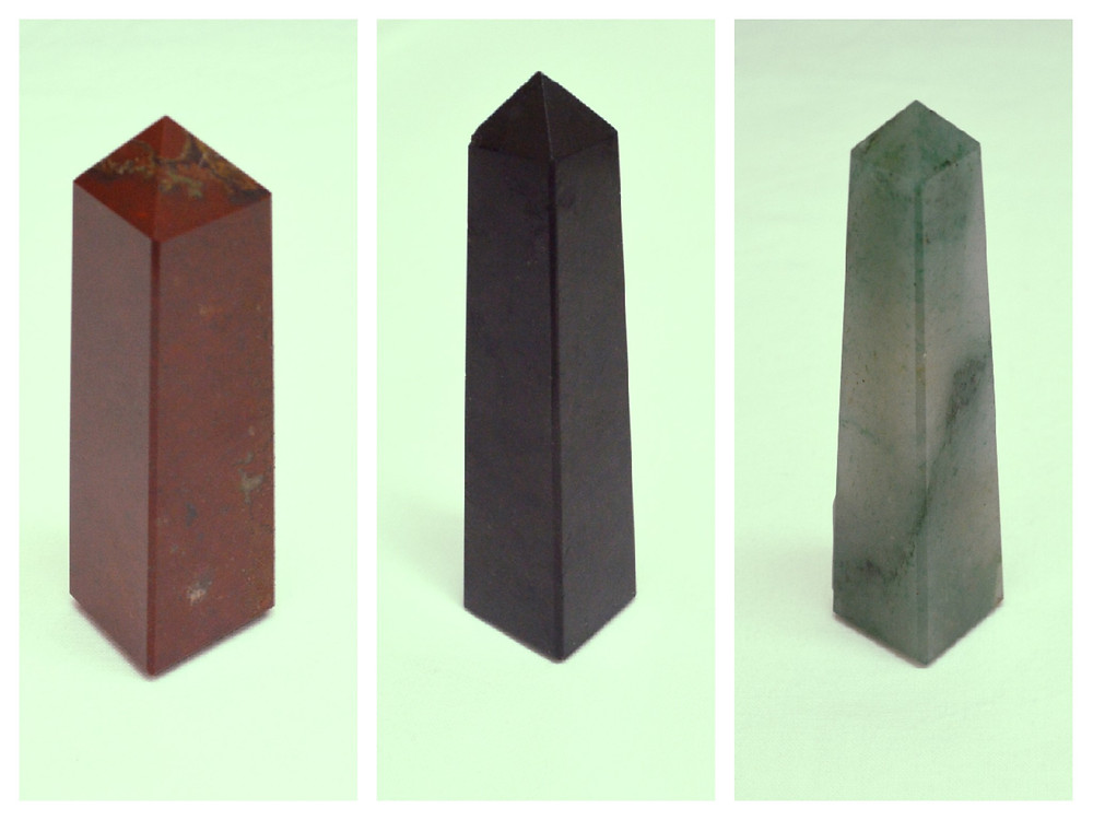 Why are gemstones shaped like Obelisks?