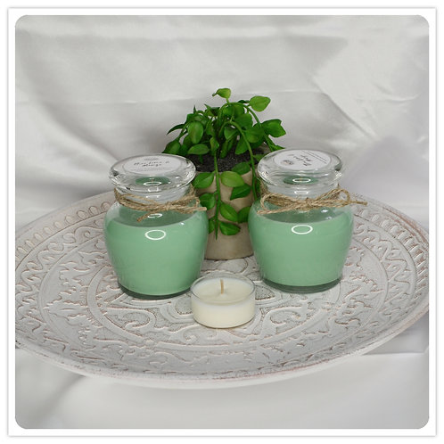 Small Scented Soy Candle - Thai Lime and Mango